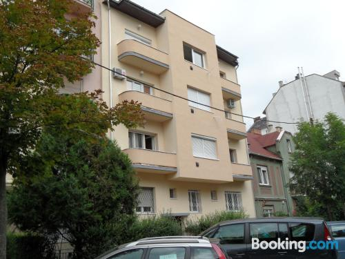 Child friendly apartment with heating