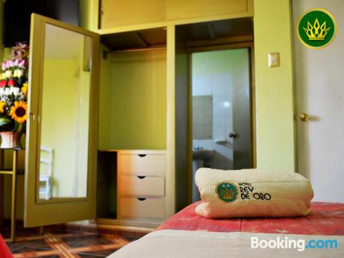 Place for two in Chiclayo with terrace and internet.
