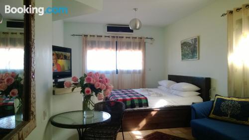 Comfy apartment in Kefar Weradim with terrace