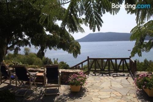 1 bedroom apartment in Steni Vala Alonissos. Enjoy your terrace