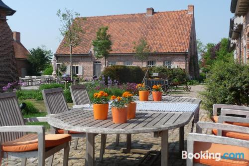 Place in Wervik. For 2 people