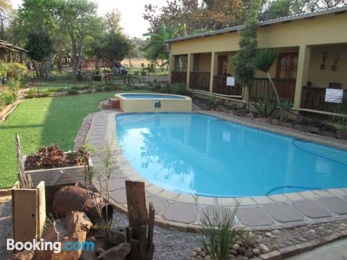 Place for two in Bela-Bela with swimming pool.