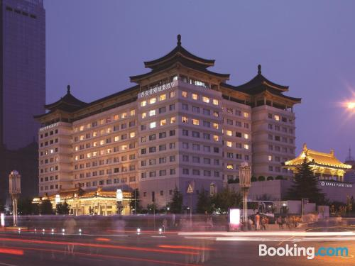 Stay cool: air place in Xi'an. 24m2!