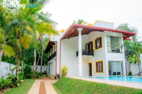 Home in Hikkaduwa with terrace