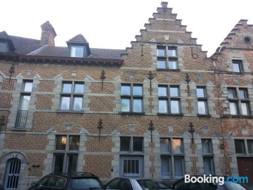 Spacious apartment in superb location. For 2