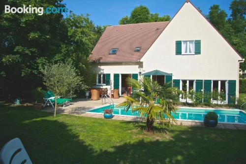 Place for two people in Maisons-Laffitte with terrace