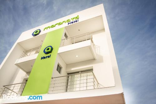 Place for 2 in Valledupar with wifi.