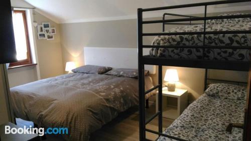 1 bedroom apartment in Malesco. Internet!