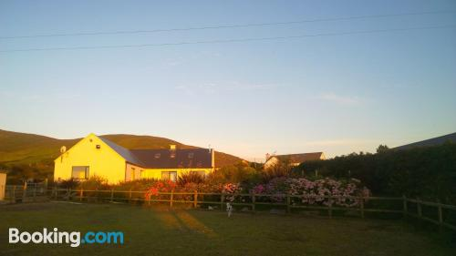 Terrace and internet apartment in Cahersiveen for 2 people