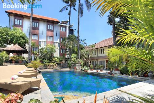 City-center place. Enjoy your swimming pool in Legian!