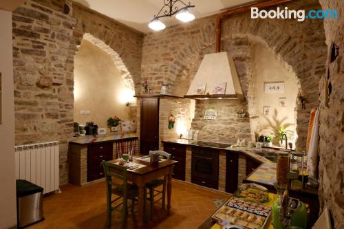 Assisi from a best location for couples