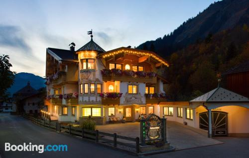 Holzgau from a incredible location with terrace