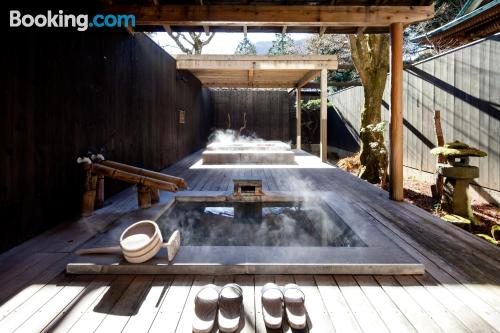 Stay in Hakone. For two people