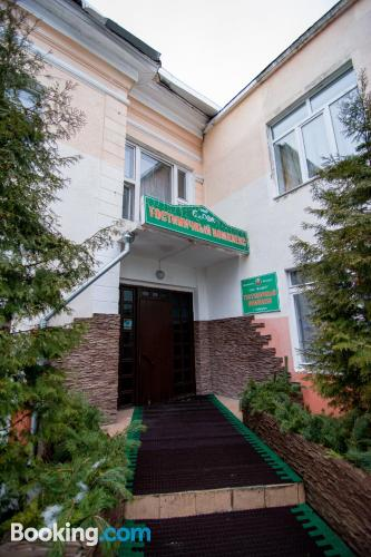 Práctico apartamento en Bobruisk. Perfecto para uno
