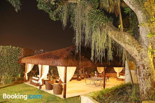Home for two in Rio de Janeiro. Enjoy your terrace