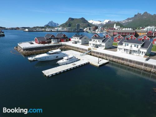 Central apartment. Svolvaer is yours!