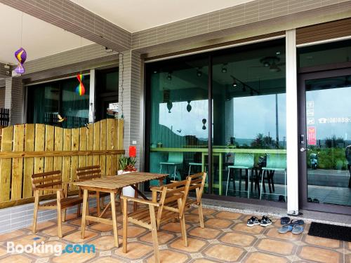 Place with terrace. Hengchun experience!