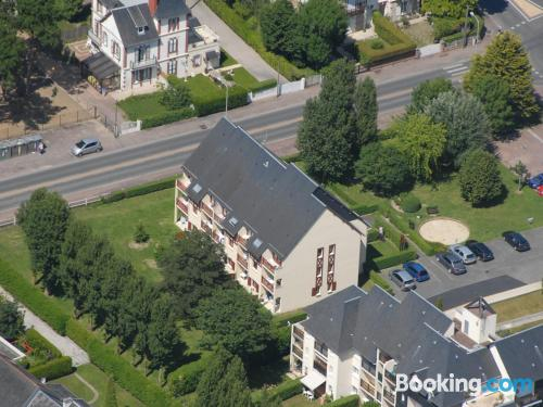 Place with internet in amazing location of Cabourg