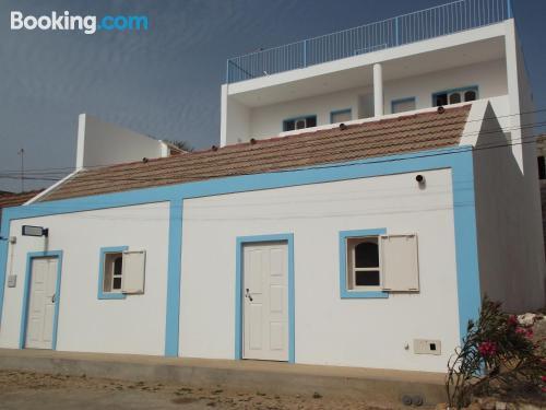 Homey home in Vila do Maio for couples