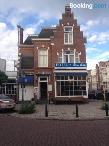 Place with wifi in center of Scheveningen