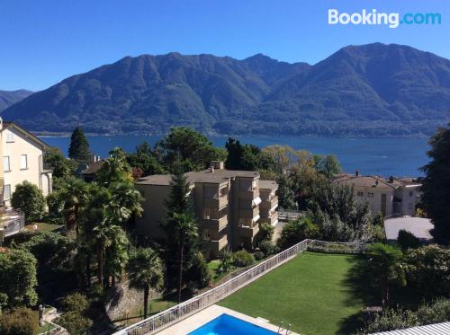 Place in Locarno with terrace