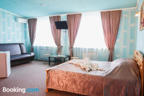 Apartment for couples in Kurgan with wifi.