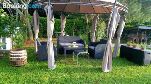 Home in Savudrija with terrace and pool