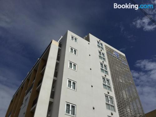 Stay cool: air-con apartment in Miyako Island. Ideal for 1 person