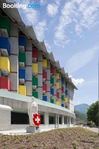 Apartamento de 23m2 en Bellinzona con conexión a internet