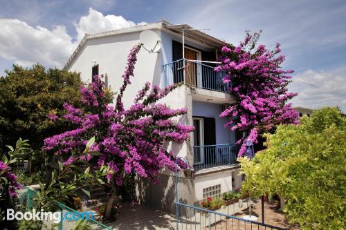 Apartamento de una habitación en Trogir con vistas