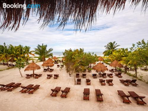 Cute apartment in Holbox Island for two people