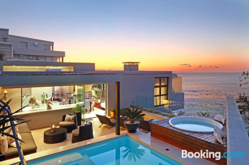 Place in Cape Town with terrace