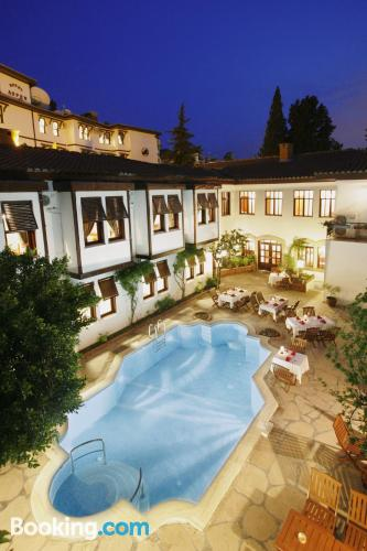 Place for two in Antalya with terrace