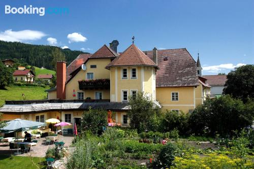 Place for 2 people in Thörl with terrace!.