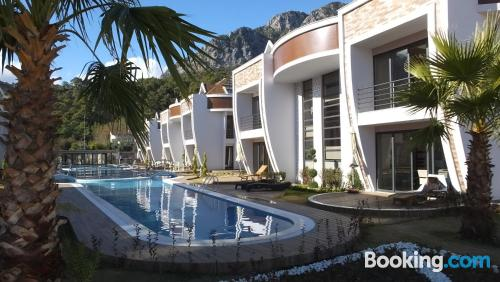 Comfortable place in Kemer for groups.