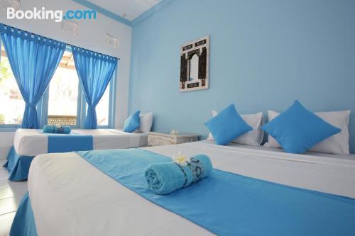 Apartamento en Gili Trawangan. ¡Aire acondicionado!