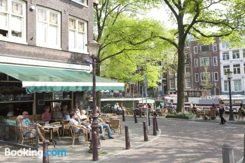 Home for 2 people in downtown of Amsterdam