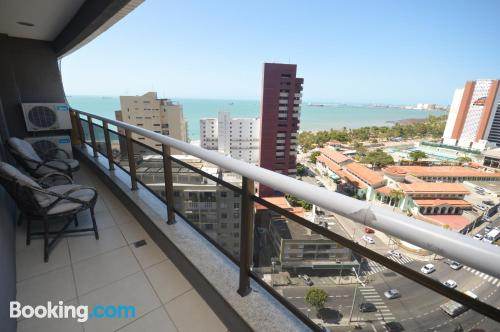 Two bedroom apartment in Fortaleza with terrace