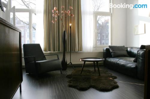 Apartment for two in Amsterdam. Absolutely perfect location