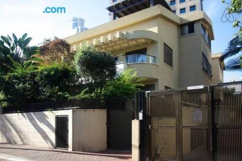 1 bedroom apartment in Ramat Gan with internet and terrace