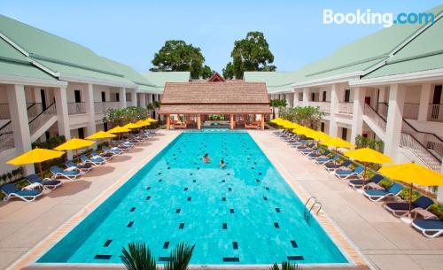 Apartamento con piscina. ¡32m2!