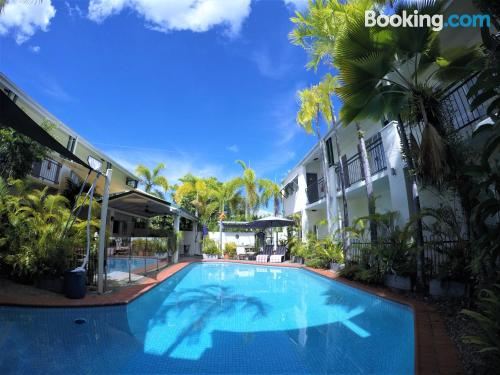 Small home. Enjoy your pool in Cairns!
