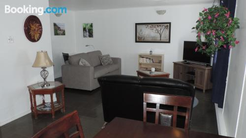 Apartment in Metabetchouan with internet and terrace