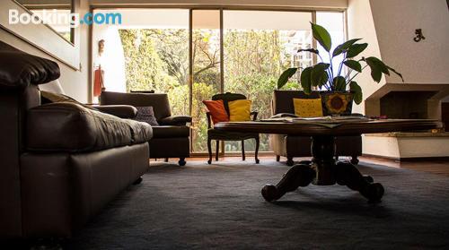 Apartamento con vistas y conexión a internet en Ciudad de Mexico. Ideal para uno