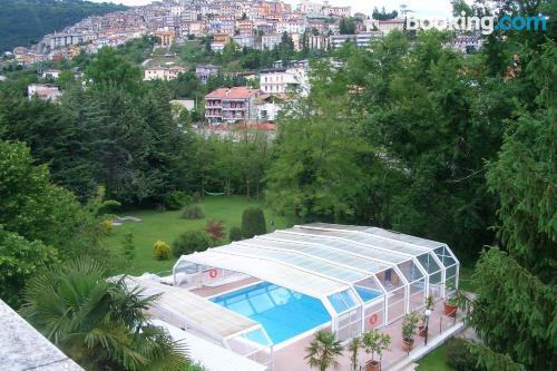 Zona increíble con piscina en Fiuggi y internet