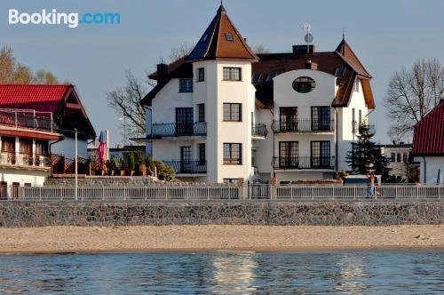 Apartamento para parejas en Sarbinowo ¡Con terraza!