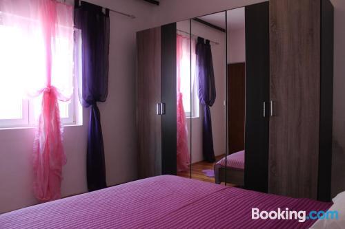 Apartamento con terraza y wifi en Korčula y aire acondicionado