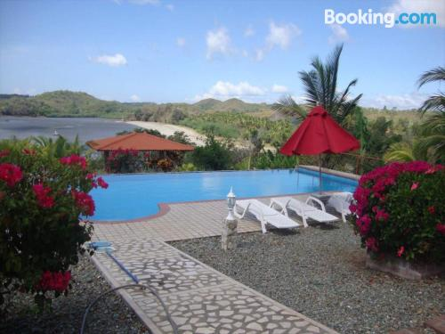 Two bedroom place in Boca Chica with terrace