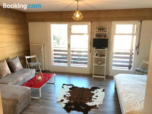 Apartamento de 33m2 en Crans-Montana ¡Con terraza!