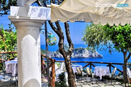 Place with terrace in best location of Conca Dei Marini